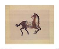 Dynastic Horses I Fine Art Print