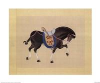 Dynastic Horses III Fine Art Print