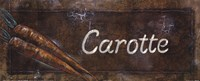 Carotte Fine Art Print