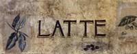 "Latte by Ruth Bush - 10"" x 4"""