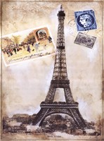 "My Paris Souvenir III by Ruth Franks - 18"" x 24"""