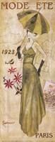 La Mode 1923 Framed Print