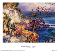 "La Jolla by Manfred Kuhnert - 13"" x 12"""