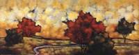 "Terra In Cognita II by Suzanne Knobe - 40"" x 16"" - $29.99"