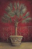 Royal Palms In Garden II Fine Art Print