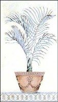 Palm Topiary I Framed Print