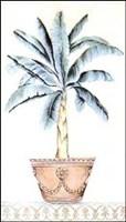 Palm Topiary II Framed Print