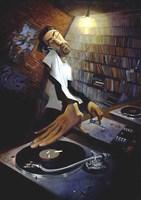 The DJ Fine Art Print