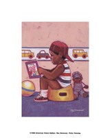 Potty Training Fine Art Print