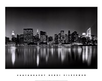 New York, New York, Manhattan East Side Fine Art Print