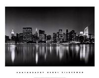 New York, New York, Manhattan East Side Framed Print