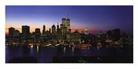 "New York Skyline by Richard Berenholtz - 40"" x 20"", FulcrumGallery.com brand"