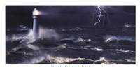 Lightning at the Lighthouse Fine Art Print
