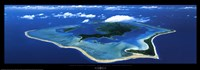 "Bora Bora, French Polynesia, South Pacific by Picture Finders - 37"" x 13"""