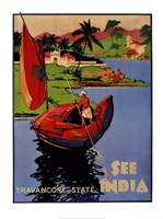 See India, 1938 Fine Art Print