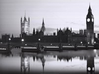Big Ben and the Houses of Parliament Fine Art Print