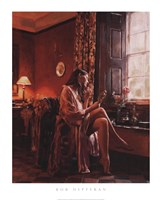 Femme avec Miroir Fine Art Print