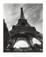 "La Tour Eiffel, Paris - under by Henri Silberman - 16"" x 20"""