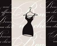 "La Robe Noire by Alfred Augustus Glendenning Jr. - 10"" x 8"""