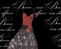 "Robe de Soiree Rouge by Alfred Augustus Glendenning Jr. - 10"" x 8"""