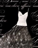 "Robe de Soiree Blanche by Alfred Augustus Glendenning Jr. - 8"" x 10"""