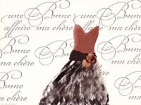 "Robe de Soiree sur le Blanc by Alfred Augustus Glendenning Jr. - 16"" x 12"""