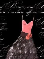 "Robe de Soiree Rose avec le Corsage by Alfred Augustus Glendenning Jr. - 12"" x 16"""