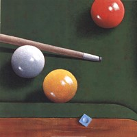 Billiards Fine Art Print
