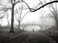 Gothic Bridge, Cental Park, NYC Fine Art Print