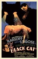"The Black Cat, 1934 by Henri Silberman, 1934 - 11"" x 17"""