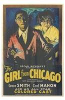 "Girl from Chicago by Henri Silberman - 11"" x 17"", FulcrumGallery.com brand"