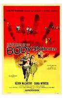 "Invasion of the Body Snatchers McCarthy & Wynter by Henri Silberman - 11"" x 17"" - $15.49"