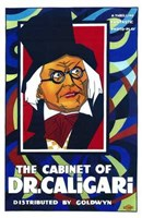"""The Cabinet of Dr Caligari - man with glasses by Henri Silberman - 11"""" x 17"""""""