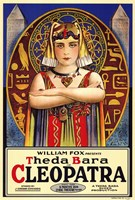 "Cleopatra The da Bara by Henri Silberman - 11"" x 17"""
