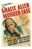 """Gracie Allen Murder Case by Henri Silberman - 11"""" x 17"""""""