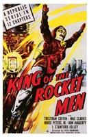 "King of the Rocket Men Coffin And Clarke by Henri Silberman - 11"" x 17"""