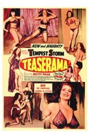 """Teaserama, 1955 by Henri Silberman, 1955 - 11"""" x 17"""""""