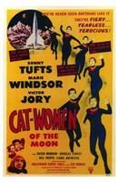 "Cat Women of the Moon by Henri Silberman - 11"" x 17"", FulcrumGallery.com brand"