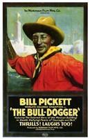 "The Bull Dogger by Henri Silberman - 11"" x 17"" - $15.49"