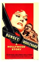 "11"" x 17"" Sunset Boulevard"