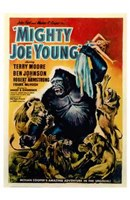 "Mighty Joe Young by Henri Silberman - 11"" x 17"""