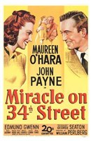 Miracle on 34Th Street Wall Poster