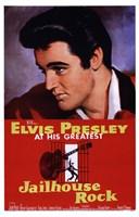 "Jailhouse Rock Elvis Presley at his Greatest by Henri Silberman - 11"" x 17"""
