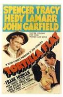 "Tortilla Flat movie poster by Henri Silberman - 11"" x 17"""