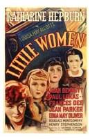 Little Women - faces Wall Poster