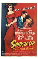 """Smash Up  the Story of a Woman by Henri Silberman - 11"""" x 17"""", FulcrumGallery.com brand"""