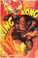 King Kong Smashing Wall Poster