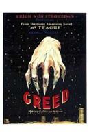 "Greed by Henri Silberman - 11"" x 17"""