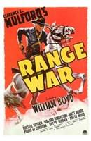 "Range War by Henri Silberman - 11"" x 17"""