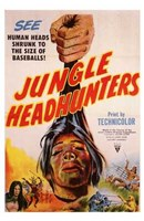 "Jungle Headhunters by Henri Silberman - 11"" x 17"""